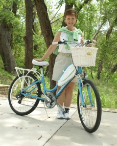 Kelly, the 2011 Face of Biking in Dallas