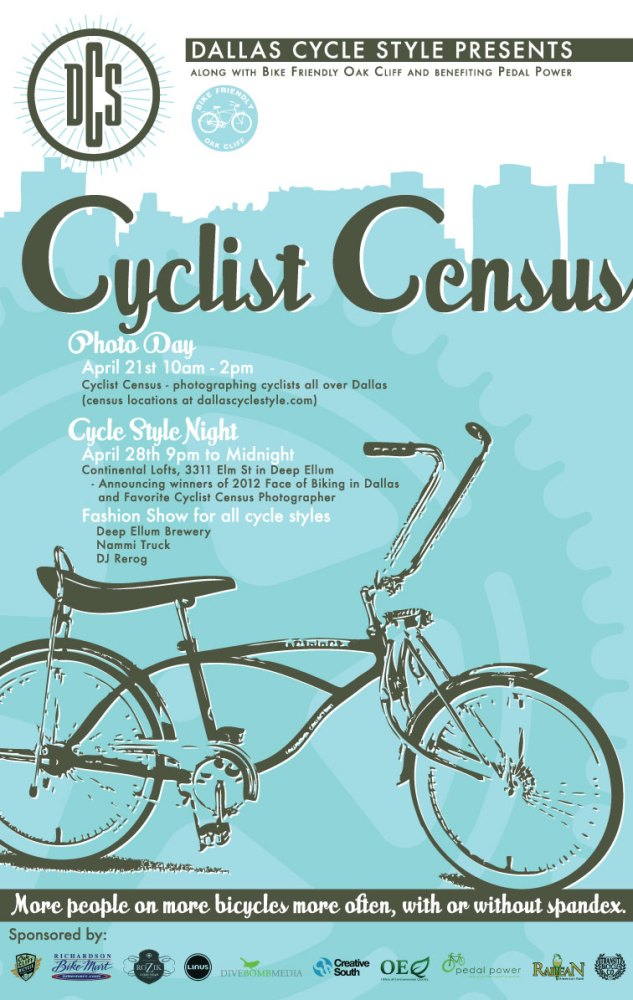 2012 Cyclist Census and Cycle Style Night (1/3)