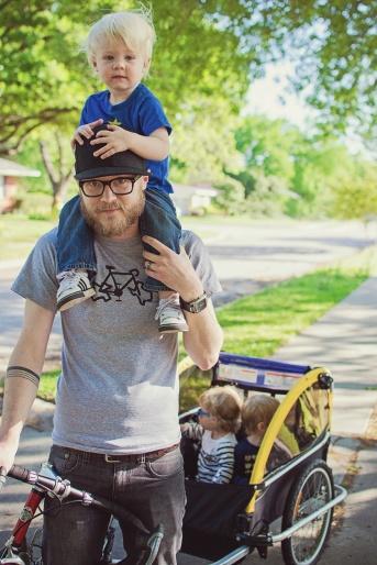 Justin&kids
